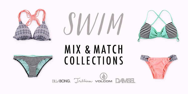 Womens Mix and Match Swimwear