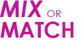 Mix or Match - Design your custom bikini collection