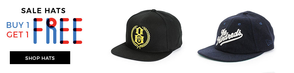 BOGO Free on Hats