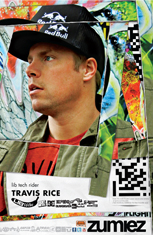 Travis Rice - Professional Snowboarder Lib Tech