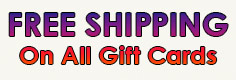 Free Shipping on all Zumiez Gift Cards