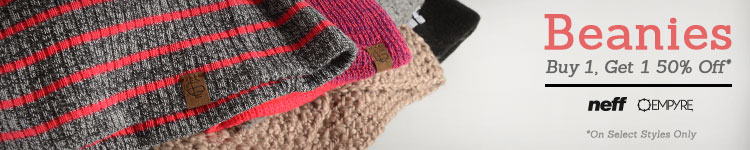Girls Beanies BOGO 50% Off