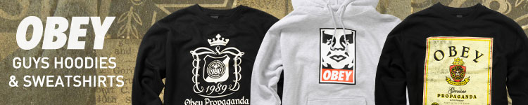 Guys Obey Sweatshirts &amp; Hoodies