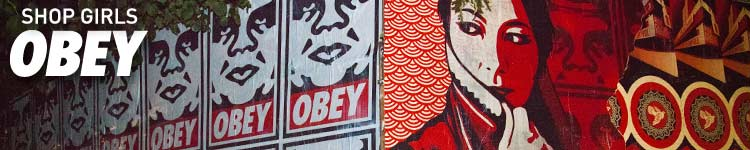 Obey Girls Apparel, Shoes and Accessories