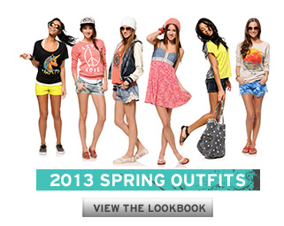 2013 Girls Spring Lookbook