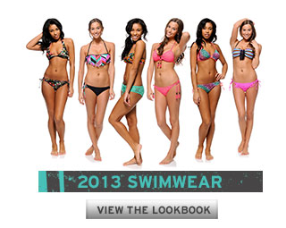 2013 Girls Swimwear Lookbook