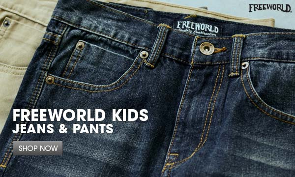 Boys Free World Jeans & Pants