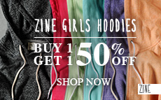 Zine Hoodies - BOGO 50% Off