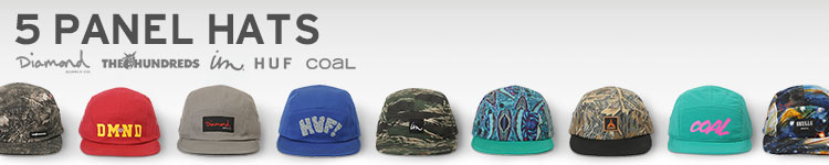5 Panel Hats