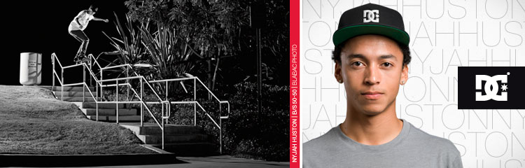 Shop Pro Skater Nyjah Huston's Gear