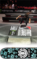 Nyjah Huston Complete Skateboard