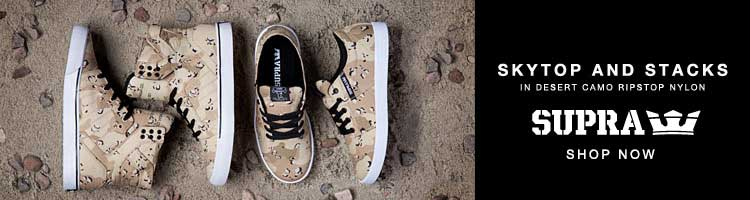 Supra Desert Camo Pack