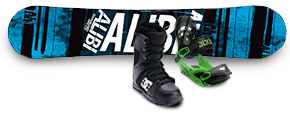 Men's Snowboard Packages