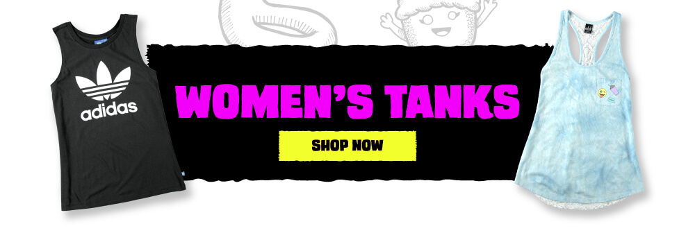 Women's Tanks Buy One Get One 50% Off