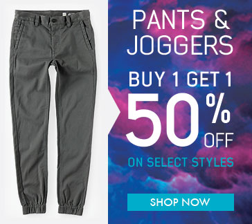 BOGO 50 on Boys Pants and Joggers