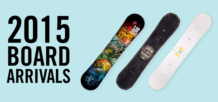 New Snowboard Arrivals