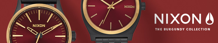 Nixon - The Burgundy Collection