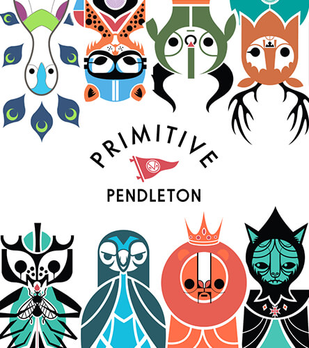 Primitive Pendleton Skateboards