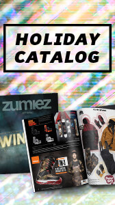 Shop the Zumiez Holiday 2017 Catalog