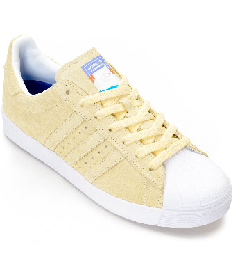Adidas Pastel Yellow Shoes