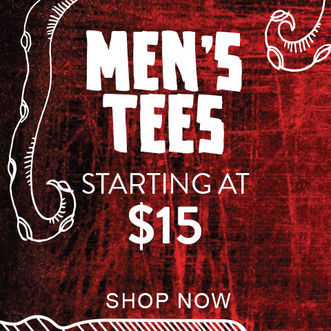 Men's Tees starting at $15