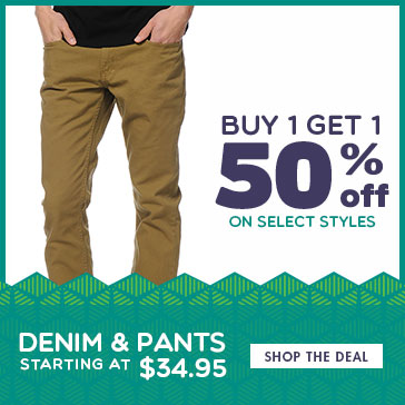 BOGO 50 on Mens Pants