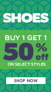 Buy 1 Get 1 50% Off Shoes