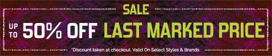 Shop 50% Off Last Marked Price