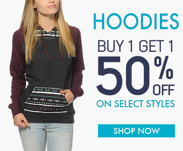 Womens Hoodies - BOGO 50