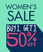 Shop All Women's Buy 1 Get 1 50% Off