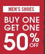 Shop All Men's Buy 1 Get 1 50% Off Shoes