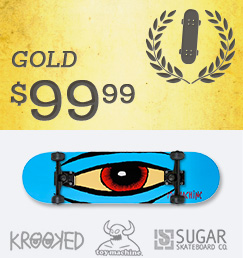 Build Your Own Skateboard Complete Gold