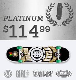Build Your Own Skateboard Complete Platinum