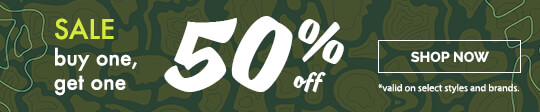 SALE - Buy 1, Get 1 50% Off