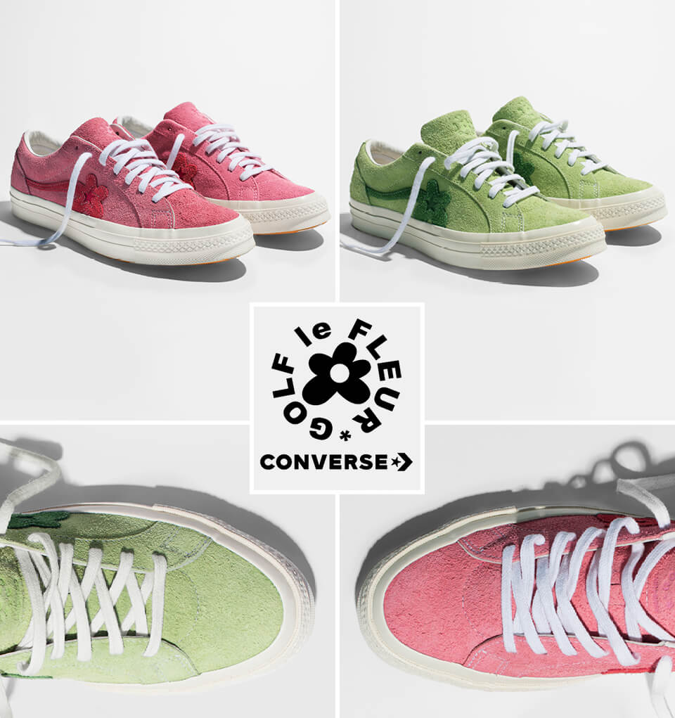 Converse and Golf le Fleur Collection