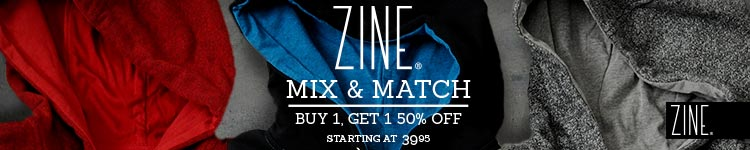 Zine Mix & Match - Buy 1 Get 1 50% Off