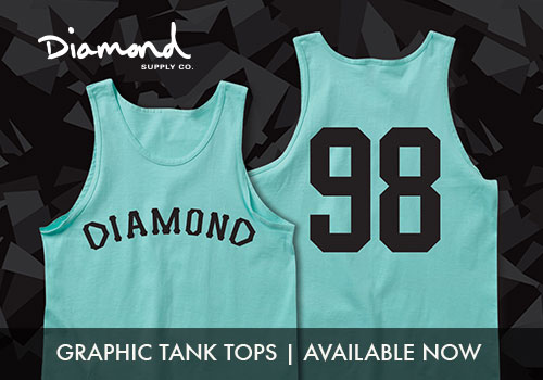 Mens Diamond Tanks