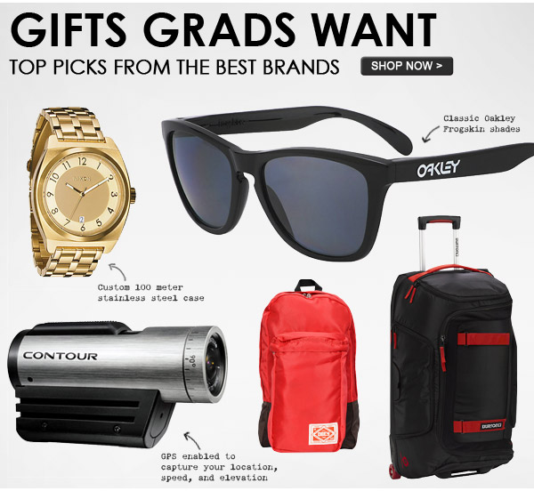 Gifts Grads Want - Shop Now