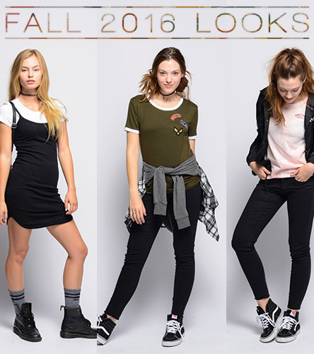 Fall 2016 Outfits