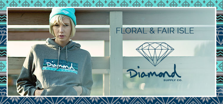 Floral & Fair Isle Diamond supply