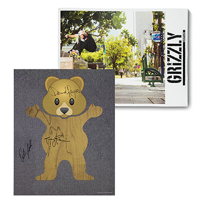 Grizzly Double Sided Signed Poster