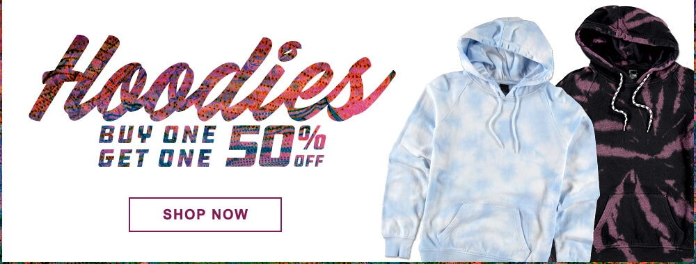 Women's Hoodies Buy One Get One 50% Off