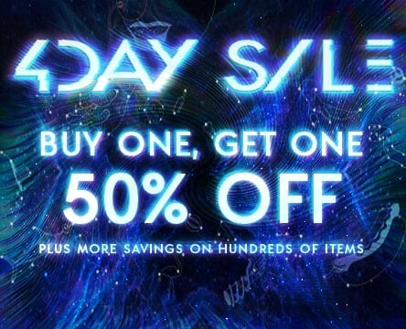 4-Day Sale. Buy One, Get One 50% Off Hundreds Of Items.