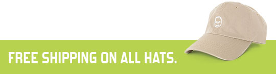 Free Shipping on All Hats