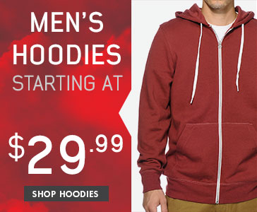 Men's Hoodies Starting At $29.99