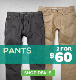 Mens Pants - 2 for $60