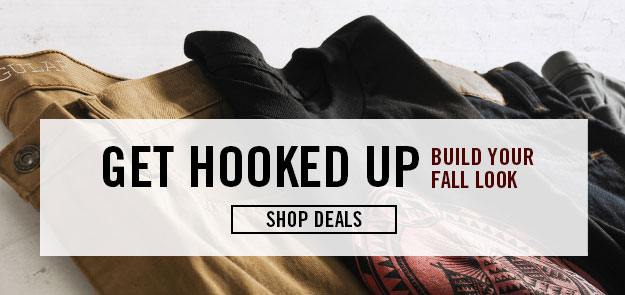 Mens Deals - Build Your Look