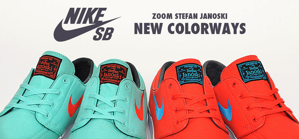 Janoski New Colorways