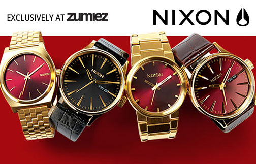 Nixon Oxblood Series