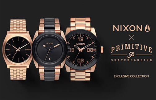 Nixon x Primitive Exclusive Collection